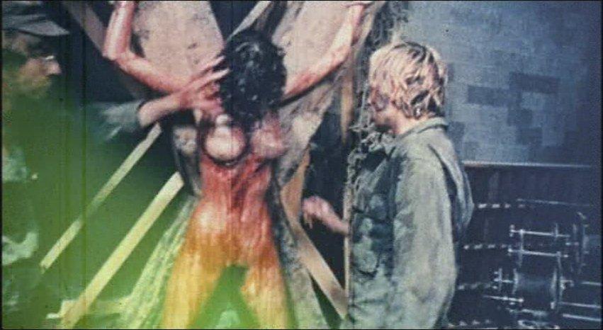 Prisoners torture with eels